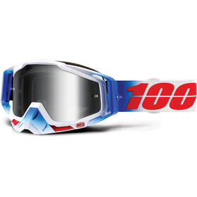 100% Racecraft Goggles blå
